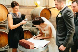 Zonzo Barn Weddings with Melbourne Celebrant Meriki Comito