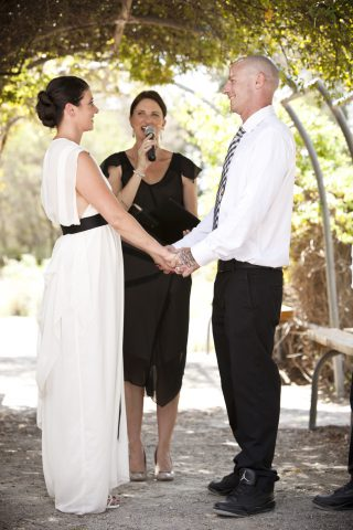 Maribyrnong Pipeworks Weddings with Melbourne Celebrant Meriki Comito