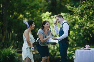 Fitzroy Garden Weddings with Melbourne Celebrant Meriki Comito