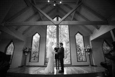 Tatara Chapel Weddings with Melbourne Celebrant Meriki Comito