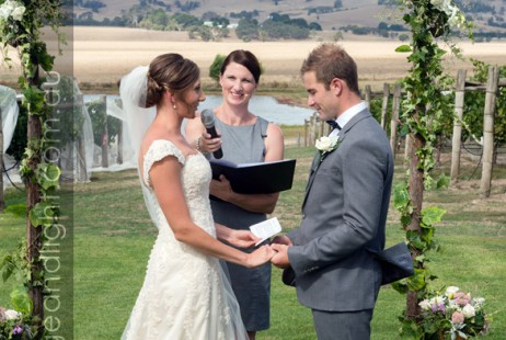 Vineyard Weddings with Melbourne Marriage Celebrant Meriki Comito