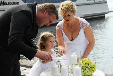 Family weddings with Melbourne Celebrant Meriki