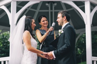 Bram Leigh Weddings with Melbourne Marriage Celebrant Meriki Comito