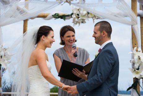Torquay beach weddings with Melbourne Celebrant Meriki Comito