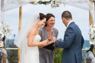 Fun Torquay beach weddings with Melbourne Celebrant Meriki Comito