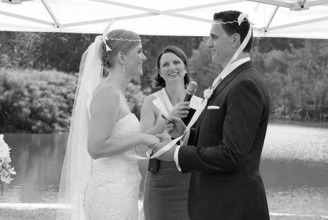 Royal Botanic Garden Weddings with Melbourne Celebrant Meriki Comito