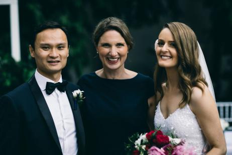 Leonda by the Yarra weddings with Marriage Celebrant Melbourne Meriki Comito