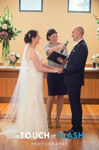 Vue on Halcyon weddings with Melbourne marriage celebrant Meriki Comito