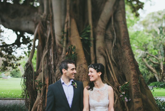 Marriage Celebrant Melbourne | Meriki Coito | Aysha & Stu's Botanical Gardens Wedding | Photo:www.ericronald.net