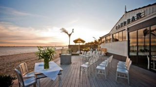 Sandbar Beach Cafe Weddings with Melbourne Marriage Celebrant Meriki Comito