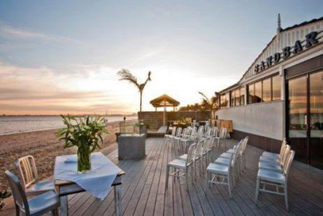 Beach Wedding at the Sandbar Beach Cafe