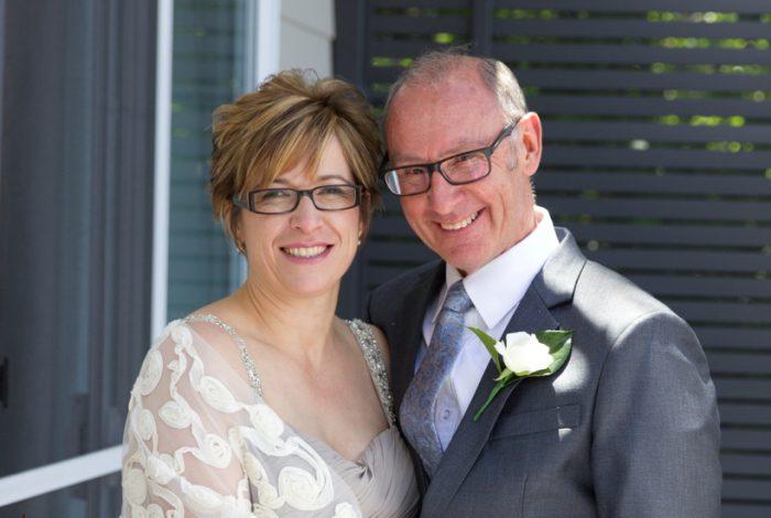 Melbourne Marriage Celebrant | Meriki Comito | Denise & Mark's Backyard Wedding