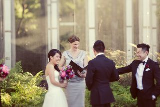 Melbourne Museum Weddings with Melbourne Marriage Celebrant Meriki Comito