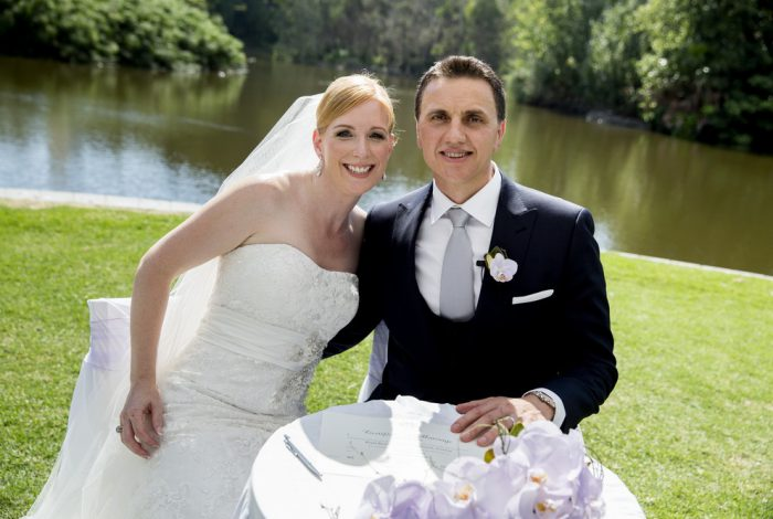 Melbourne Marriage Celebrant | Meriki Comito | Lisa & Borce's Botanical Gardens Wedding | Photo: www.epicphotography.com.au