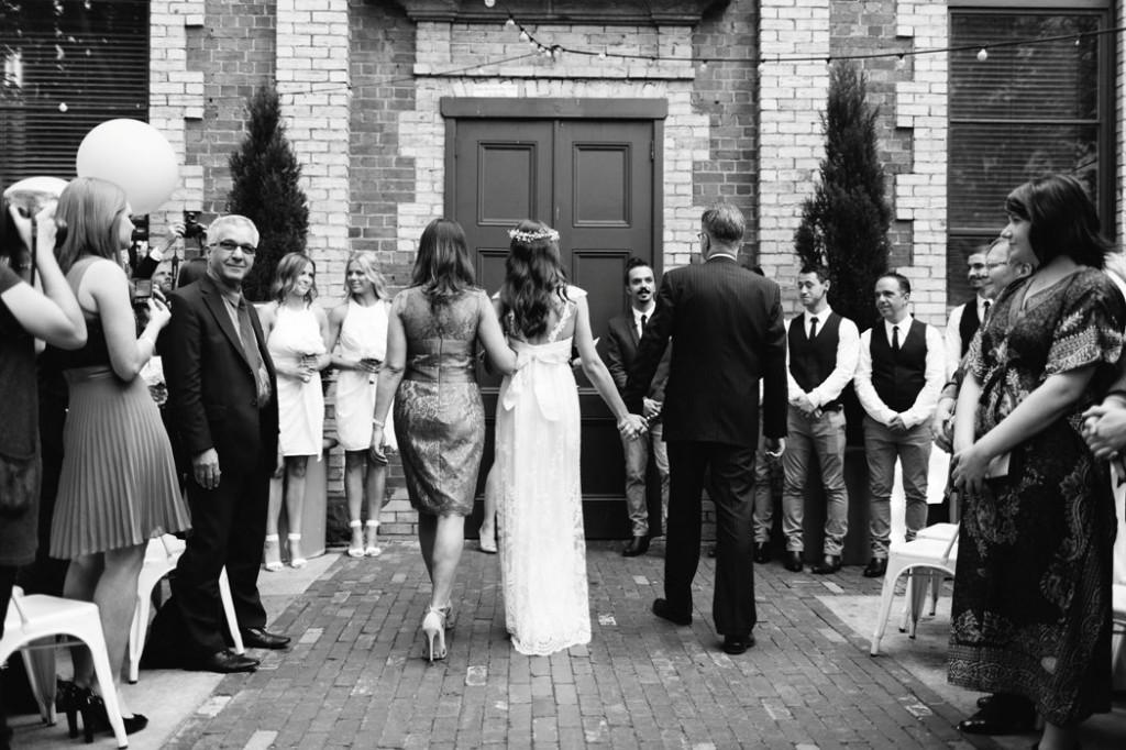 Melbourne Celebrant | Meriki Comito | Trunk Bar Wedding | Photo: www.allio.co
