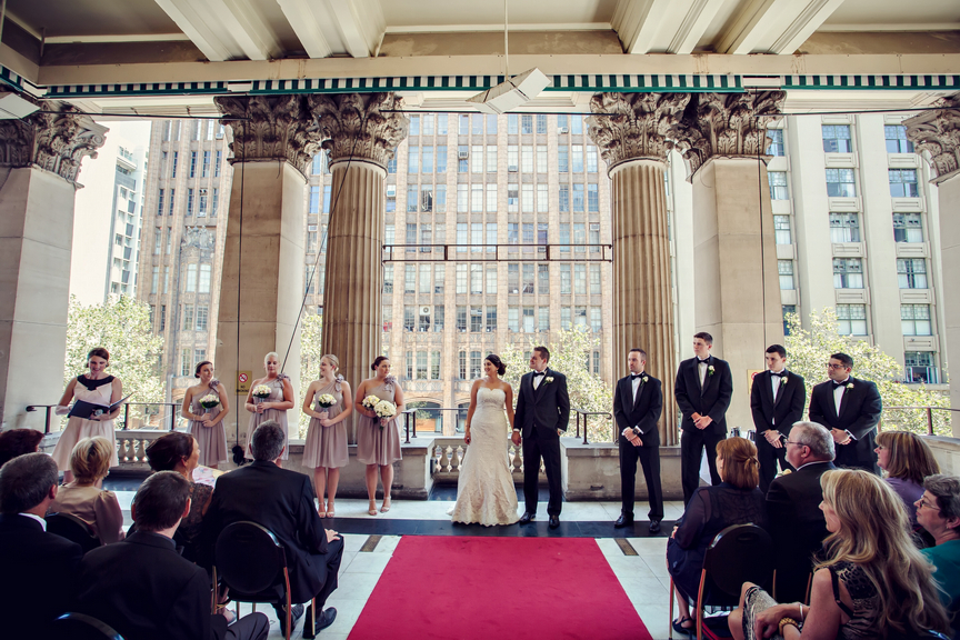 Melbourne Town Hall Wedding