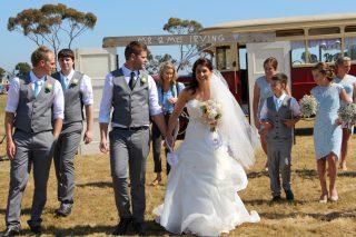 Bellarine Peninsula Weddings with Melbourne Celebrant Meriki Comito