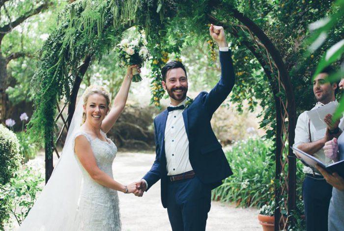 Melbourne Celebrant Meriki Comito | Steph & Andy's Chateau Dore Wedding | Photo: Photography by Sara J