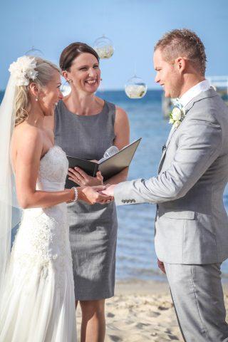 Sorrento Beach weddings with Melbourne Celebrant Meriki Comito