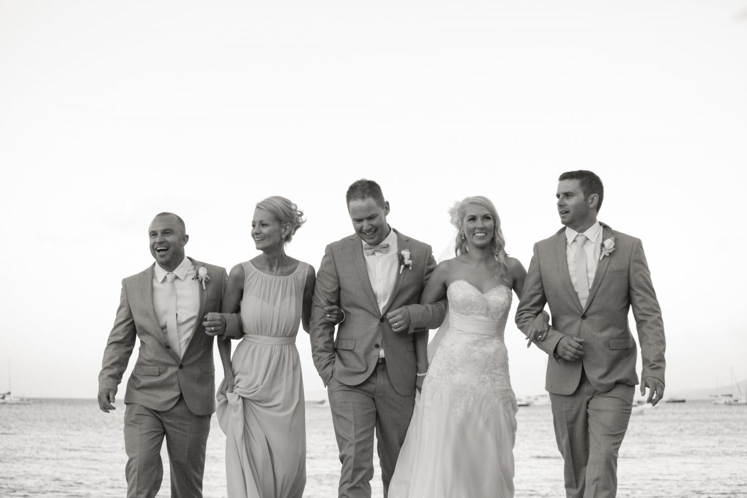 Sorrento Beach Wedding