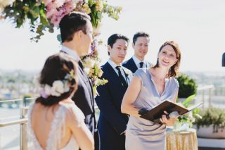 Rooftop Weddings with Melbourne Celebrant Meriki Comito