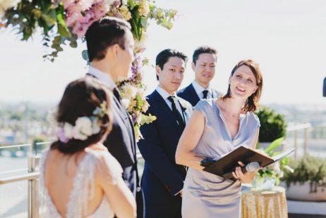 Rooftop Weddings with Melbourne Celebrant Meriki Comito