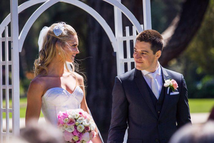 Melbourne Celebrant | Meriki Comito |Michelle & Joe's Werribee Mansion Wedding | Photo by T-One