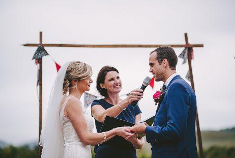 Yarra Valley weddings with Melbourne Marriage Celebrant Meriki Comito