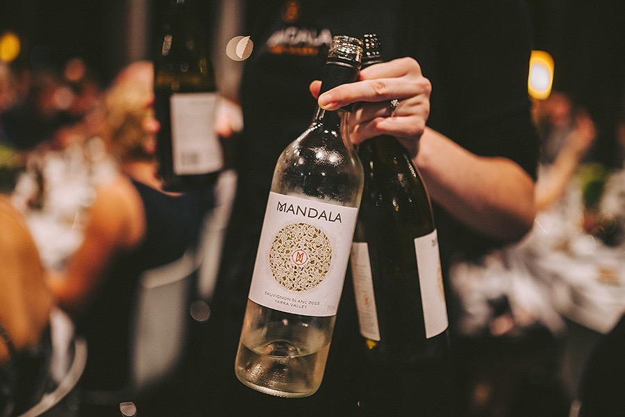 Mandala wines wedding