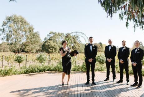 Marriage Celebrants in Melbourne Vineyards