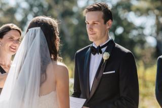 Glen Erin Weddings with Melbourne Celebrant Meriki Comito
