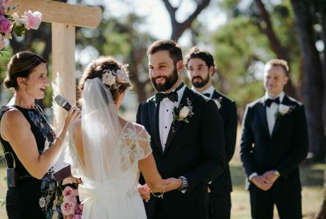 Wedding Celebrants at Tanglewood Estate
