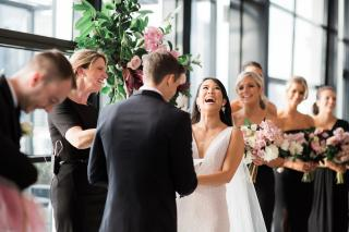 Luminare weddings with Melbourne Celebrant Meriki Comito