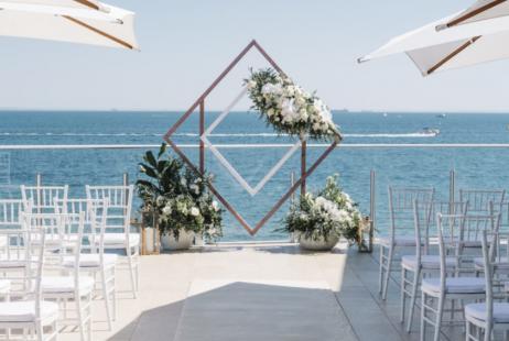 Beach Weddings at the Sandringham Yacht Club