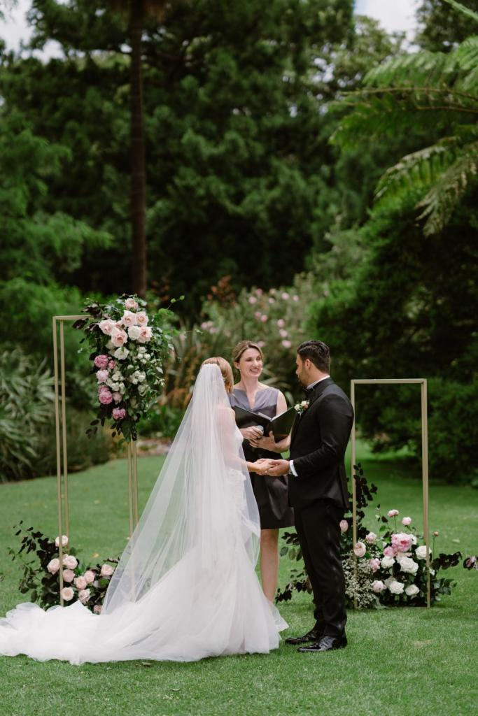 Gardens House weddings with Meriki Comito Celebrant