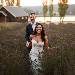 Daylesford Weddings with Melbourne Marriage Celebrant Meriki Comito