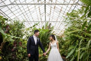Botanical Garden Weddings with Melbourne Marriage Celebrant Meriki Comito