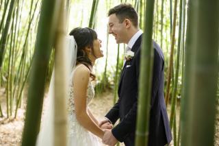 Botanical Garden Wedding with Melbourne Marriage Celebrant Meriki Comito