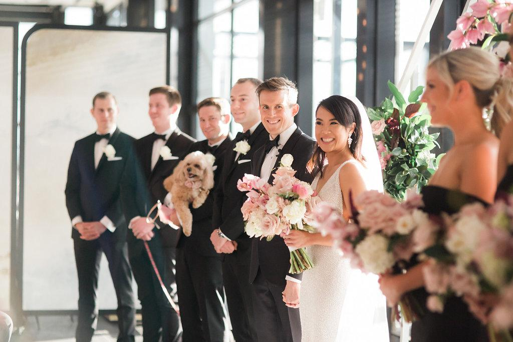 Luminare South Melbourne indoor wedding