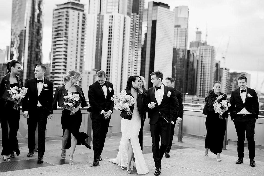 Luminare South Melbourne wedding