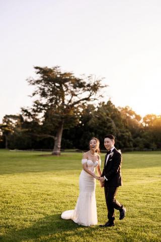Weribee Mansion Weddings with Melbourne Marriage Celebrant Meriki Comito