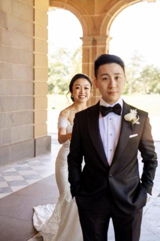 Weribee Mansion Weddings with Melbourne Marriage Celebrant Meriki Comito