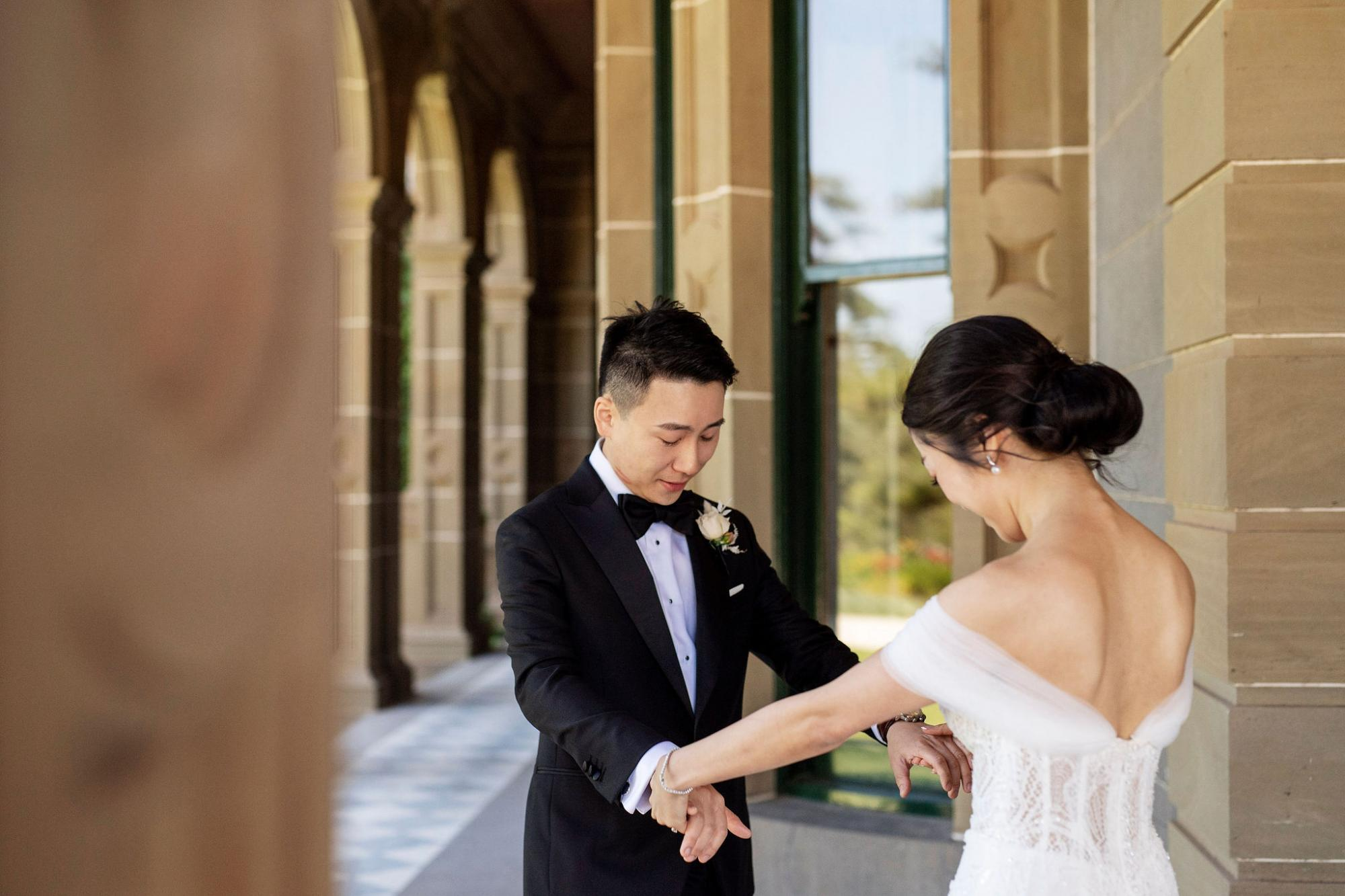 Werribee Mansion wedding