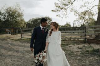 Collingwood Children's Farm Weddings with Melbourne Marriage Celebrant Meriki Comito