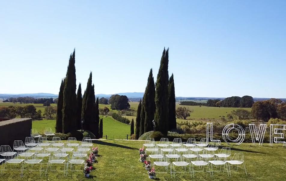 Camp David wedding