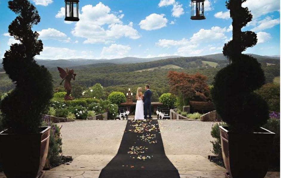 Forest Edge Gembrook wedding ceremony location