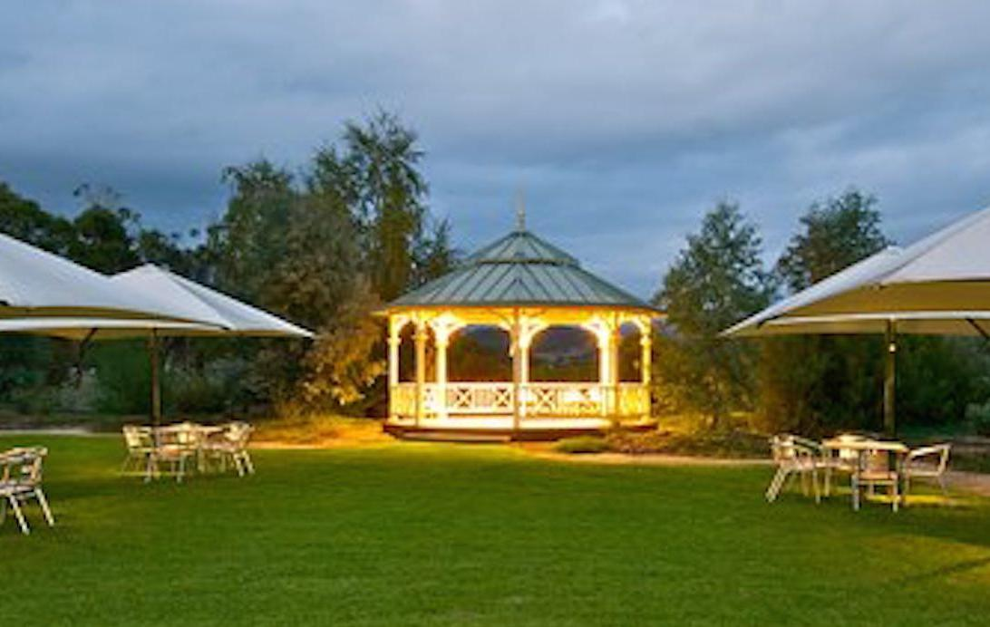 Mandala Wines rotunda + outdoor wedding ceremony location