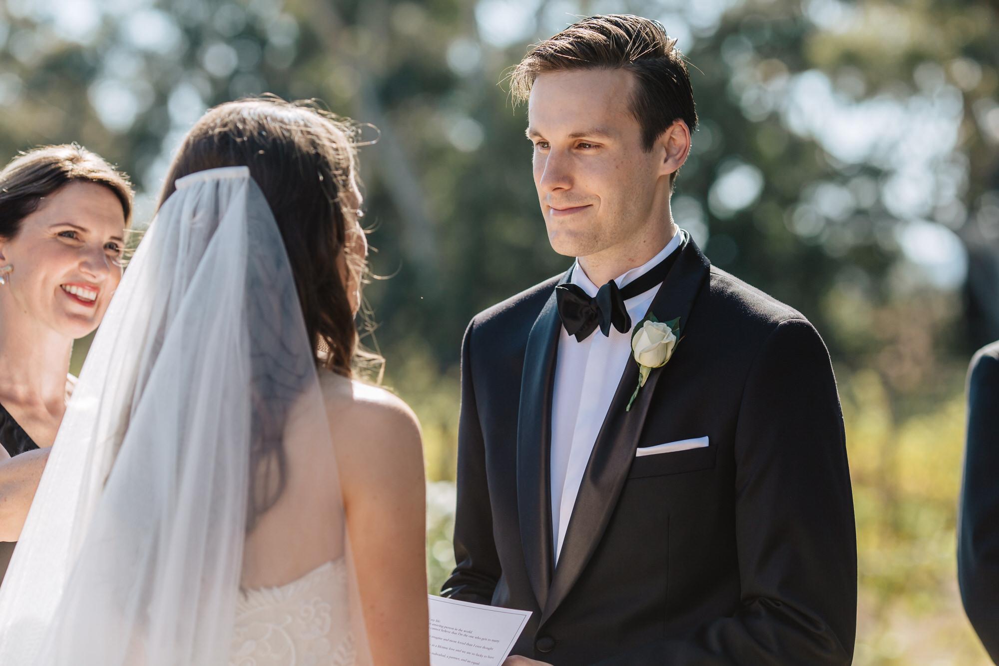 Glen Erin Vineyard Wedding Ceremony