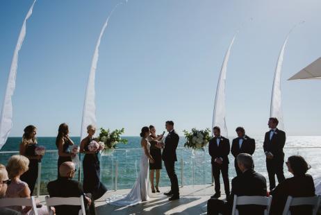 Sandringham Yacht Club Wedding and celebrant