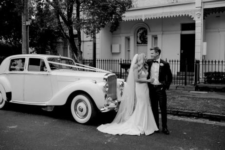 Larissa + Paul's Albert Park Wedding